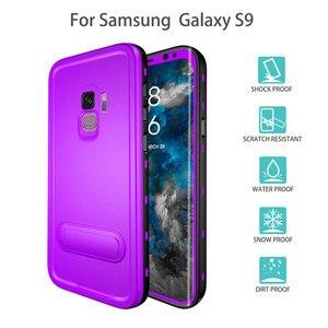Image 3 - สำหรับ Samsung Galaxy S8 PLUS/S9 กันน้ำกันกระแทกฝาครอบด้านหลังที่ปิดสนิทสำหรับ Samsung Galaxy S10 S8 หมายเหตุ 10 9 Plus แขน