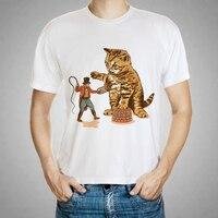 2016 Brand Clothing 3D T Shirt Men Thunder Cat Design Summer Style Mens T Shirts Fashion