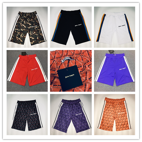 New Palm Angels Men Shorts Kanye West Camouflage Shorts Men 1:1 High Quality Fog Shorts Summer Palm Angels Short Vetements
