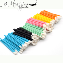 100Pcs/pack Soft Pro Disposable Brush Makeup Lip Brushes Lipstick Gloss Wands Applicator Must-Have Cosmetic Makeup Tools недорого