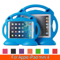 High Quality EVA Silicon Rubber Cover Heavy Duty Shockproof Protective Kids Safe Case For Apple IPad