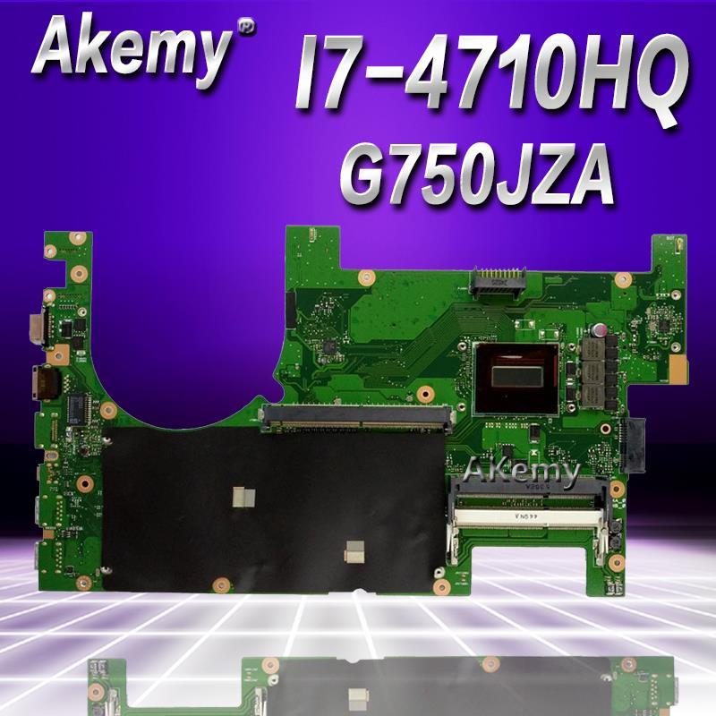 For ASUS G750J G750JZ G750JZA 2D Motherboard G750JZA Main board i7-4710 CPU USA