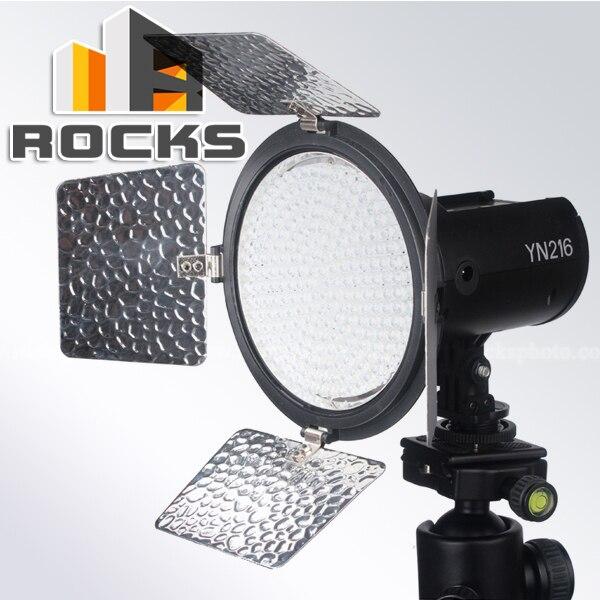 ФОТО Yongnuo YN216 Pro LED Studio Video Light with 3 kind of power supply mode