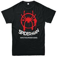 Spiderman Into The Spider Verse T Shirt, Superhero Unisex Adult & Kids Tee Top2019 fashionable Brand 100%cotton Printed Round Ne