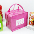 Fashion Lunch Bag Heat Preservation Package PU Lunch Bag Handbag For WomenWaterproof Canvas Ice Pack Bolsa Termica Para Marmita