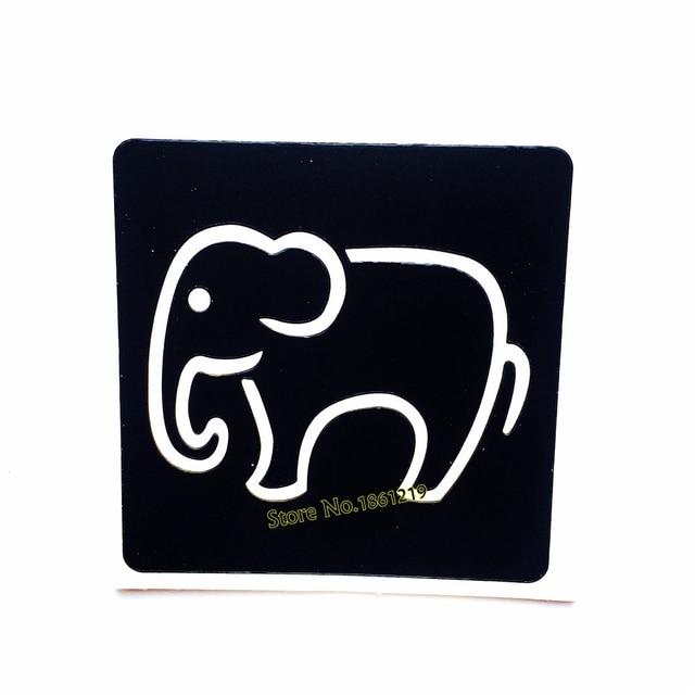 small elephant pattern henna tattoo stencils for body art feet hands