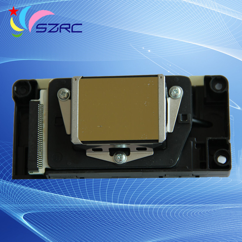 Original New F186000 DX5 Solvent Gold Oily Printhead Compatible For Epson R1900 R2000 R2880 4880 7880C Print head Unlocked new original solvent print head f186010 printhead compatible for epson r2880 oil solvent printer head