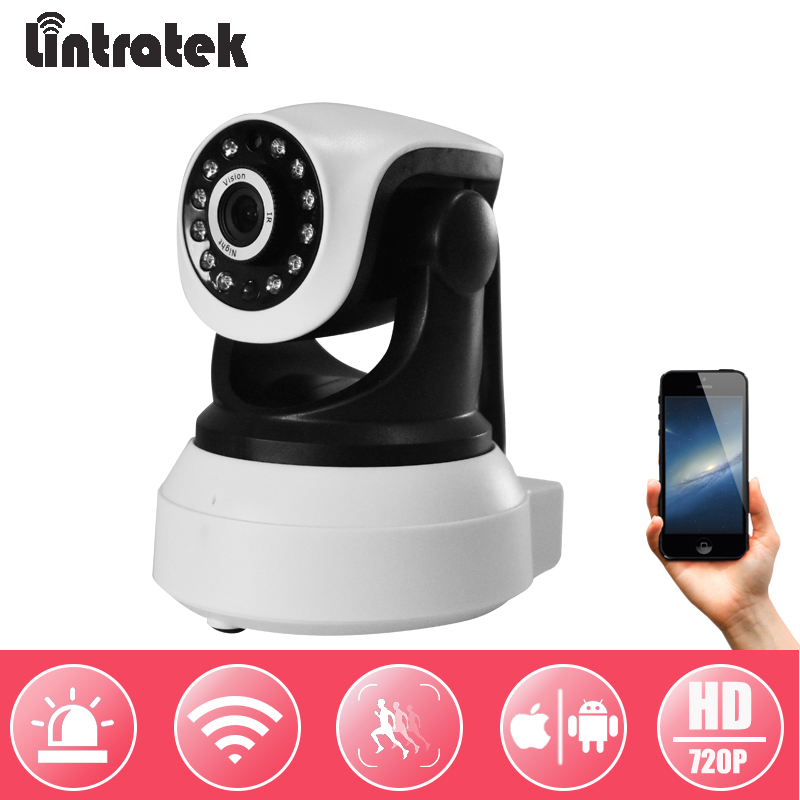 Clear Inventory Mini CCTV IP Camera Indoor Video Surveillance Home Security Camera Baby Monitor LINTRATEK Shipping from Russia inventory accounting