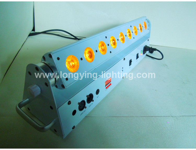 9x18w battery led wall washer light (23)