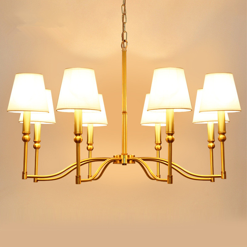 American full copper Pendant Lights European style droplight living room bedroom dining room copper lamps and lanterns 110V-260V chinese style iron lantern pendant lamps living room lamp tea room art dining lamp lanterns pendant lights za6284 zl36 ym