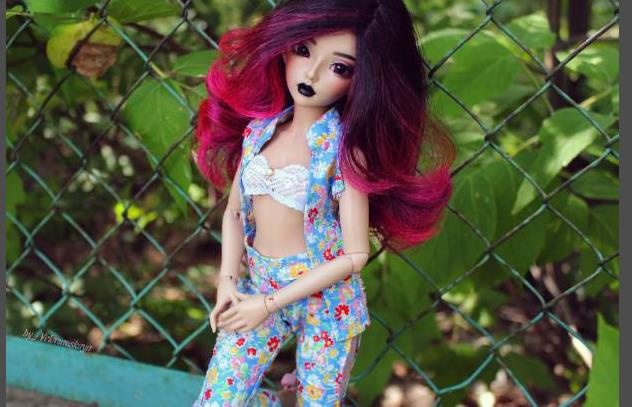 boneca bjd 1 4 ceeline nova boneca joint 04