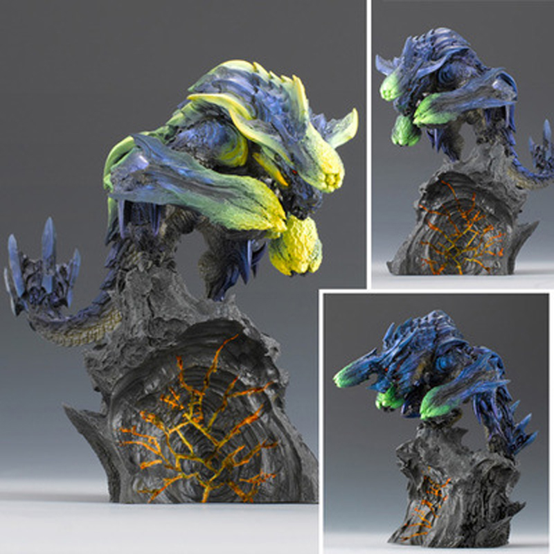 Japanese Anime Monster Hunter 3G Figure Brachydios PVC Models Beast Dragon  Action Figure Decoration Toy Model Children's Gifts