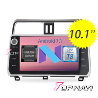 Car Players For Toyota Prodo 2018 Octa Core 10 2 Screen Android 7 1 2G 32G