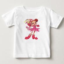 DoReMi Girls short sleeved T-shirts childrens cotton t-shirts 2018 latest 100% Pure summer kids Tshirt T-shirt  tshirt