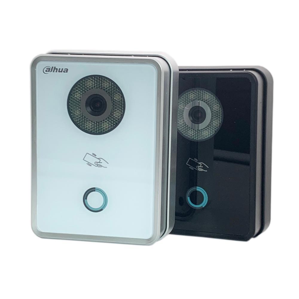 Ahua Multi-sprache Vto6210b/bw Ip Villa Türklingel, Ip Video Gegensprechanlage, Tür Telefon, Poe P2p Gehören Rfid-karte + Power Adapter