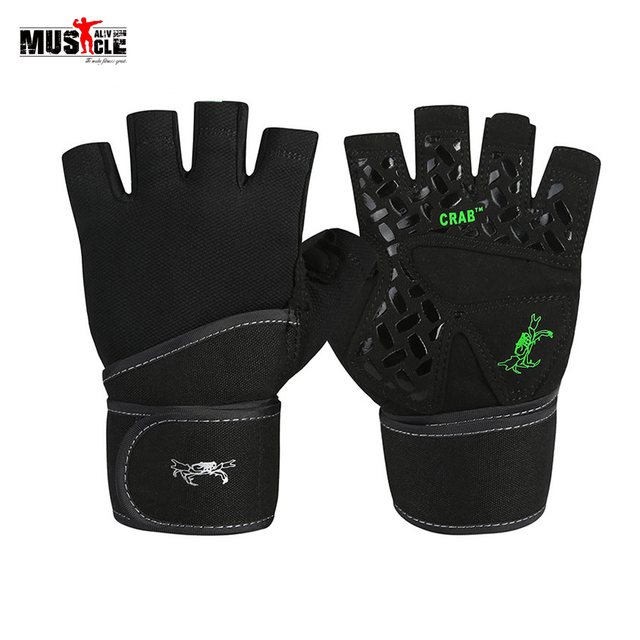 Weight Lifting Gym Gloves Men Sports Gloves Fitness Workout Training