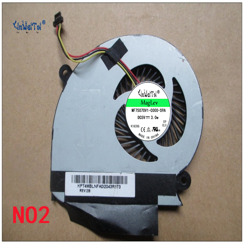 Laptop CPU cooling fan for  KIPO FABLN01EUA 5V 0.4A KPT4MBLNFA0I0049R173 cpu cooling conductonaut 1g second liquid metal grease gpu coling reduce the temperature by 20 degrees centigrade