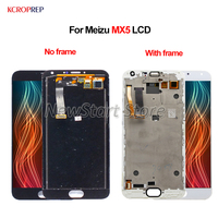 For Meizu MX5 MX 5 LCD Display Touch Screen Digitizer Assembly 5.5 100% Tested For Meizu MX 5 MX5 lcd Replacement Accessory