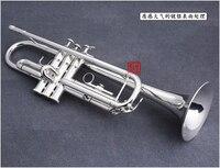 Япония Куно KTR 902 посеребренные небольшой труба Bb плоским инструмент латунь Strudents Bb Trompeta