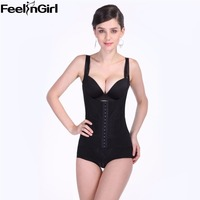 Women Slimming Full Body Tummy Control Waist Trainer 4 Magnet Back Shapewear 3 Hook Row Bodyshaper