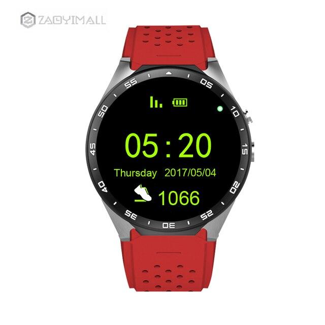 Zaoyimall Kw88 ОС Android 5.1 Смарт-часы Электроника android SmartWatch Phone Support 3 г SIM WiFi GPS для женщин мужской часы