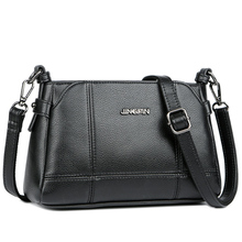 Fashion Genuine Leather Crossbody Bags women casual messenger bag Small Brand Designer women Shoulder Bag ladies hand bags