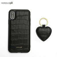 Horologii CUSTOM NAME FREE half wrapped case for iphone xs max and key holder gift set dropship service