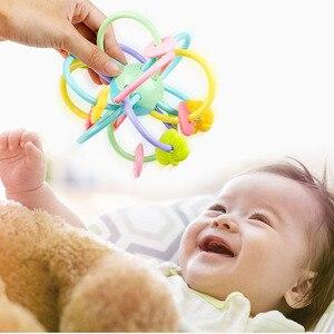 Image 4 - Baby Speelgoed Activiteit Bal Baby Speelgoed 0 12 Maanden Baby Rammelaar Bal Knagen Greep Educatief Speelgoed Voor Baby 0 12 Maand Klim Leren