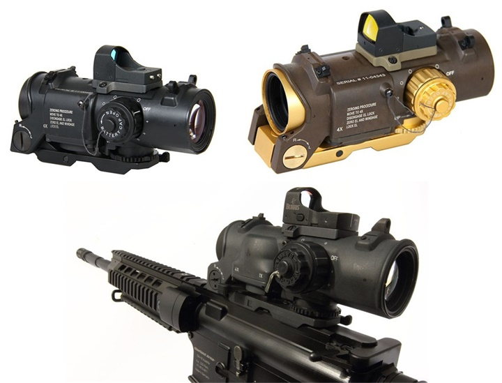 New Tactical Red and green lighting Retical 20 mm detachable red point sight Fast detachabl Air Rifle Sniper rifle cope