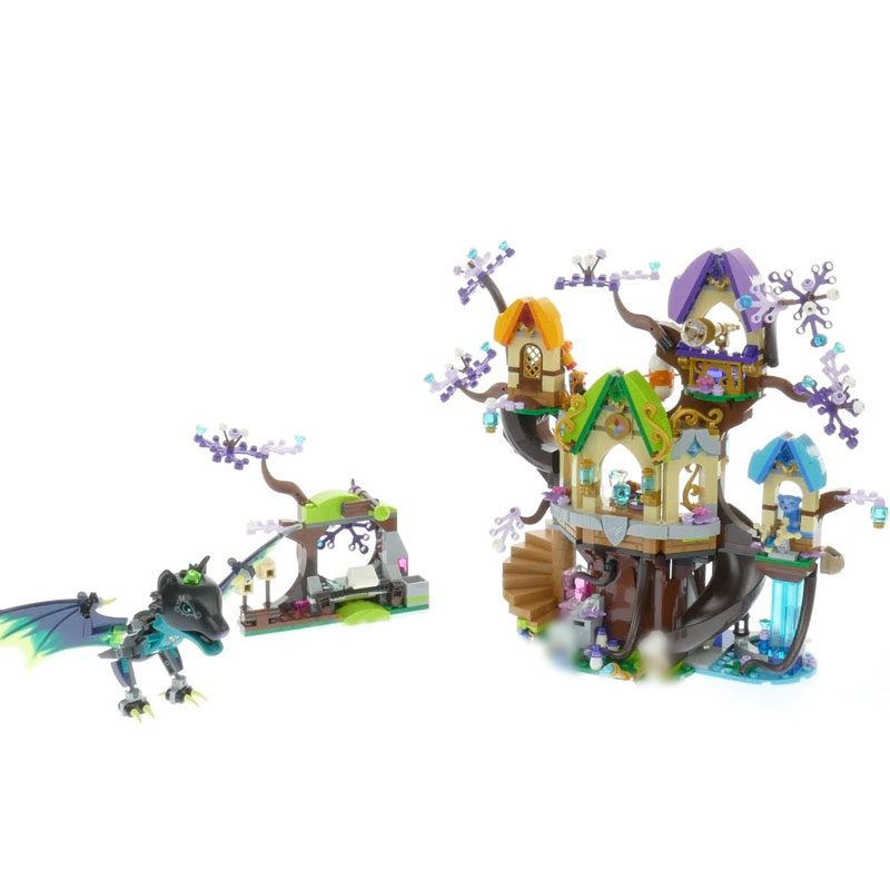 Lepin 30020 Girls Toys The legoinglys 41196 Star Tree Bat Attack Set Building Blocks Bricks Funny Girls Birthday Christmas Gifts