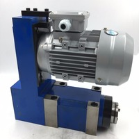2HP 1.5KW Induction Motor MT3 Spindle Unit Power Head V Belt 6000rpm High Speed for CNC Milling Machine
