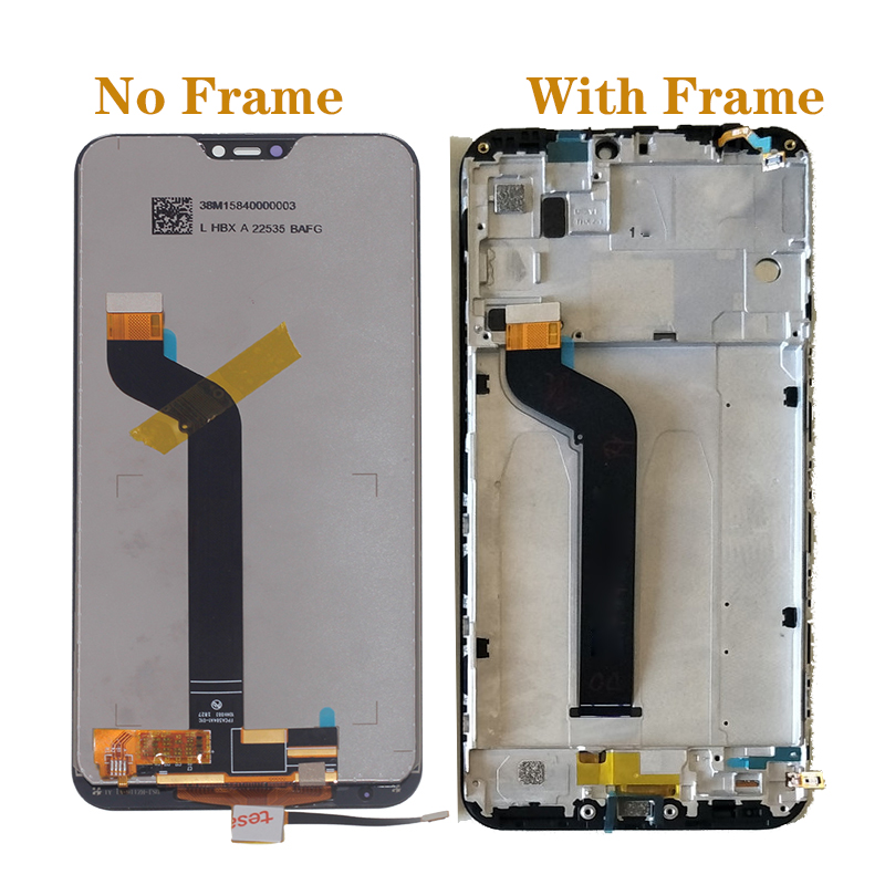 """Image 2 - 5.84"""" original LCD For Xiaomi Mi A2 Lite LCD +touch screen digitizer kit for Xiaomi Redmi 6 Pro display replacement repair parts-in Mobile Phone LCD Screens from Cellphones & Telecommunications"""