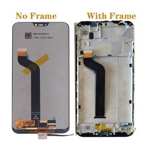 Image 2 - תצוגה חדשה שיאו mi Mi A2 לייט LCD מסך מגע digitizer לשיאו mi אדום mi 6 פרו תצוגה החלפת חלקי תיקון