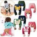 В розницу! 2016 НОВЫЙ детская одежда леггинсы осень хлопка младенца PP брюки леггинсы брюки подарочные детскую одежду
