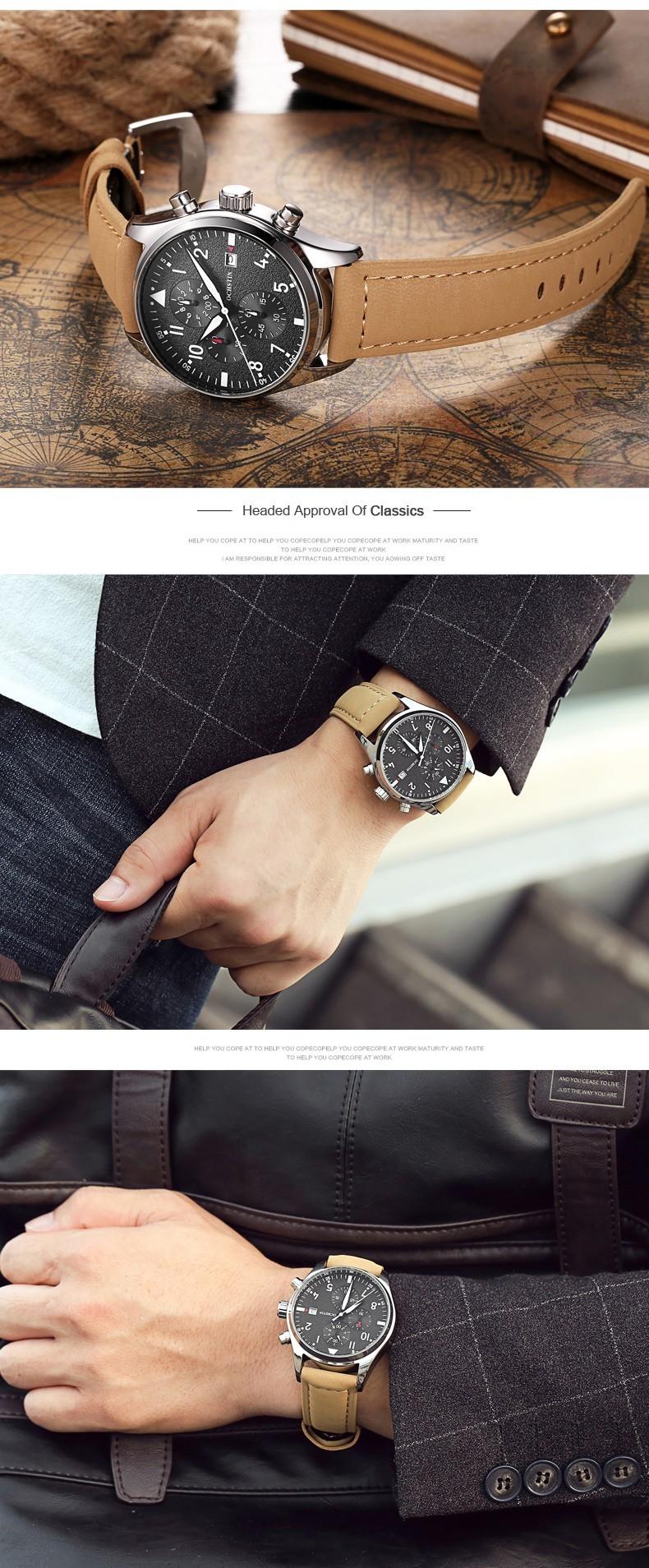 Zegarek Ochstin Infinity Brązowy 3