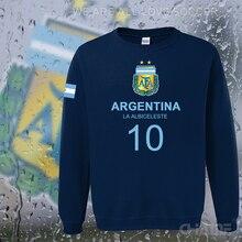 Argentina nation team hoodie men sweatshirt polo sweat suit hip hop streetwear tracksuit Argentine country 2017 footballer new