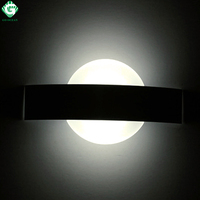 GO OCEAN Wall Lamps Mirror Light Black White Plated Bedroom Sconce Wall Lamp Indoor Modern Sunrise