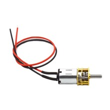 DC 3V 6V 12V Micro Speed Gear Motor 15-500RPM Metal Gear