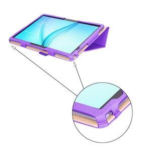 Image 4 - Per Huawei MediaPad M5 Lite 10 di Cuoio di Caso Del Basamento Tablet Cover Per Huawei M5 lite 10.1 BAH2 W19 BAH2 L09 BAH2 W09 + film