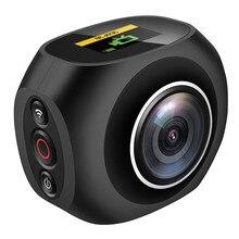 HOT 4K HD 360 Degree Panoramic font b Camera b font VR Mini Handheld Unique Dual