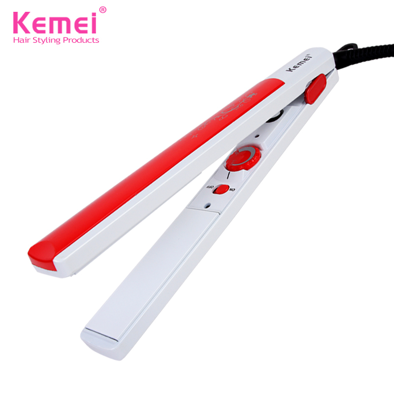 make up 888 Store Kemei807 New Flat Iron Straightening Irons Styling Tools 45W Professional Hair Straightener Free Shipping