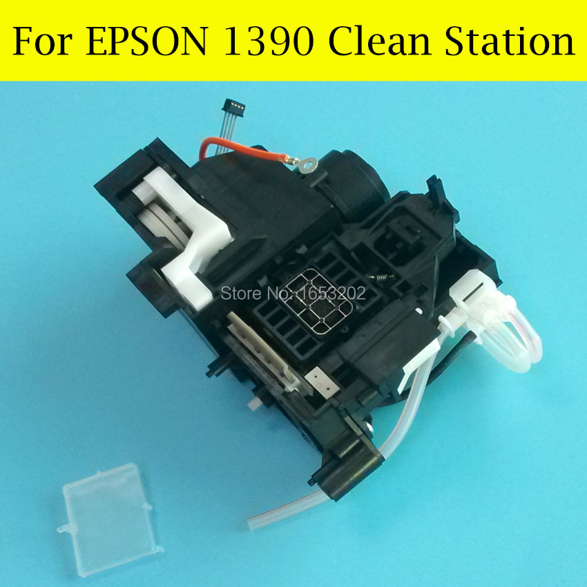 цена на 1 Set Ink Pump And Capping Station Assembly Cap For Epson Stylus Pro 1390 1400 Printhead