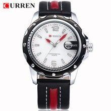 2017 LUXURY Curren Brand Quartz gold Watches Deluxe Men leather watches women Wristwatches Gifts men wristwatches 8104