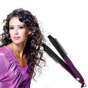 Image 3 - WXB 5 ב 1 מחליק סגנון קרמיקה שיער תכליתי רולי Curler קרלינג שרביט ברזל לפוצץ מייבש שרביט סטיילינג כלים מייבש Bru