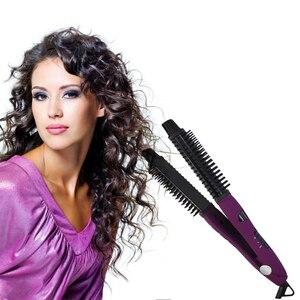 Image 3 - WXB 5 w 1 prostownica do włosów styl ceramiczne do włosów uniwersalny lokówki lokówki lokówka żelaza suszarka nadmuchowa różdżka Styling Tools suszarka do Bru