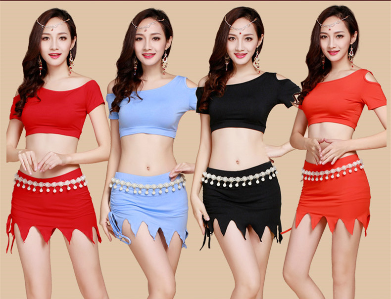Belly Indian eastern hair swinging baladi dance costumes Bellydance oriental dancing costume clothes bra belt skirt dress 3069