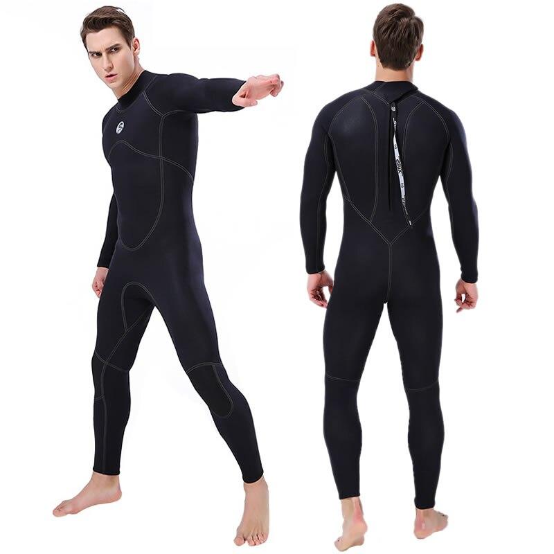 New SLINX 3mm Men Full Body Neoprene Triathlon Wetsuit Scuba Diving Wet Suit for Surfing Snorkeling