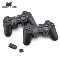 Data Frog Dual 2 4G Wireless Game Controller For Android Smart Phone Joystick Gamepad For Android