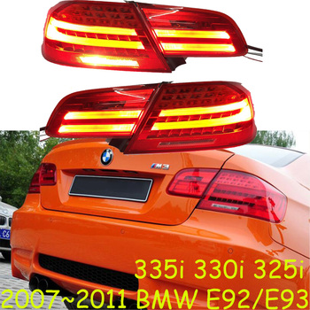 Video show One set 4PCS Car Styling for BMW E92 Taillights 2007~2011 for E92 LED Tail Lamp+Turn Signal+Brake+Reverse LED light