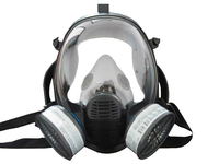 SQY FF04 Military and Police Style Full Face Gas Mask With Double Filter Training Mask